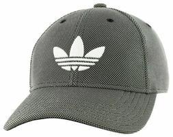 adidas Mens Originals Trefoil Plus Baseball Cap Hat Stealth