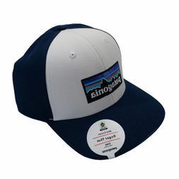 Patagonia | Mens P-6 Logo Roger That Hat Baseball Cap | Whit