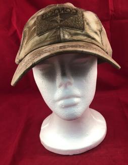 Condor Mesh Baseball Cap, Brown/Tan Camo, Adjustable Hat, Sp