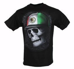 Mexican Baseball Cap Skull Funny Mexican Hat T Shirt