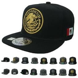MEXICO Baseball Cap Hip Hop Hat Flat Bill Snapback SINALOA J