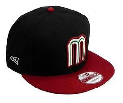 NEW ERA Mexico Hat 9fifty World Baseball Cap Classic Snapbac