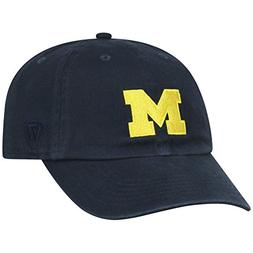 Elite Fan Shop Michigan Wolverines Womens Hat Icon Navy - Bl