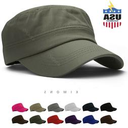 Army Cap Military Hat Cadet Patrol Castro Men Women Golf Bas