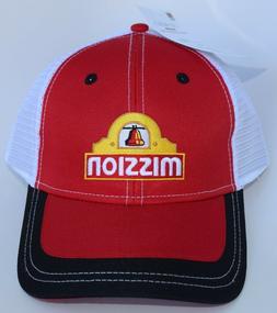 Mission Foods Baseball Cap Hat Adjustable Strapback Mesh Str