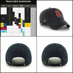 MLB Boston Red Sox Men's '47 Brand Home Clean Up Cap, Navy,