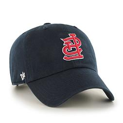 MLB St. Louis Cardinals Men's Clean Up Cap, Navy