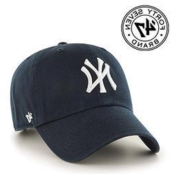 MLB New York Yankees '47 Brand Navy Basic Logo Clean Up Home