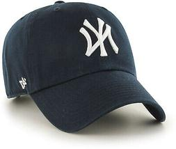 New MLB New York Yankees Mens 47 Brand Home Clean Up Cap, Na