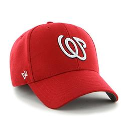 '47 MLB Washington Nationals MVP Adjustable Cap, Red