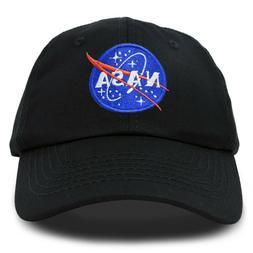 DALIX NASA Hat Baseball Cap Washed Cotton Embroidered Logo P