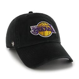 separation shoes 2a6e2 45174 NBA Los Angeles Lakers  47 Clean Up Adjustable Hat, Black, O