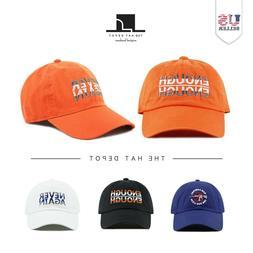 The Hat Depot  Cotton Baseball Cap
