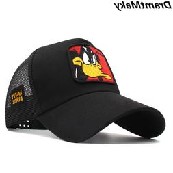 New Animals Donald Duck Embroidery Men's <font><b>Baseball</