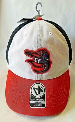 New 47 Franchise Baltimore Orioles MLB Fitted Baseball Cap S