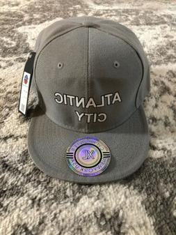 New GREY City Hunter 6 Six Panel Baseball Hat Cap Grey Atlan