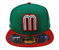 New Era 59Fifty Hat World Baseball Classic Mexico Cap Green