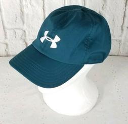 NEW Under Armour Hunter Green Adjustable Baseball Cap Hat Un