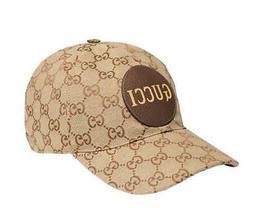 NEW GUCCI LOGO GG GUCCISSIMA CANVAS BEIGE BASEBALL CAP HAT 6