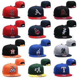 New Mens Hat Adjustable Snapback Hat Hip Hop Baseball Cap Ha