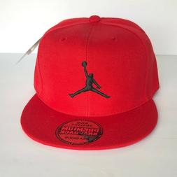 NEW Mens Jordan Baseball Cap Snapback Hat Red Adjustable