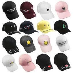 NEW Mens Strapback Hats Curved Hiphop Caps Adjustable Unisex