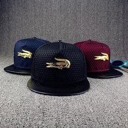 NEW Mens Womens Snapback Hat The Crocodile Baseball Caps adj
