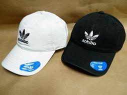 NEW adidas Originals Relaxed Strapback Baseball Cap Hat Tref