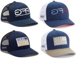 NEW Columbia PFG Snapback Cap Baseball Hat Mesh Unisex USA P