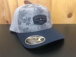 NEW Travis Mathew Navy Gray Mesh Snap back Hat cap Men's One