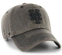 New York Mets MLB Caliper '47 CLEAN UP Baseball Cap Hat Adju