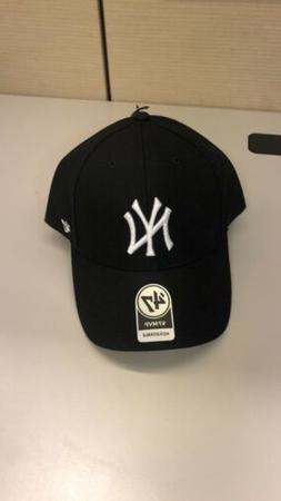 New York Yankees '47 Brand Black White Adjustable MVP Baseba