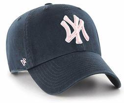 New York Yankees 47 Brand Women's Clean Up Adjustable Hat -