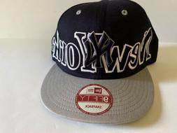 New York Yankees MLB Baseball New Era Hat Adjustable Flat Bi