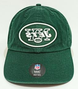 NFL New York Jets '47 Clean Up Adjustable Hat, Dark Green, O