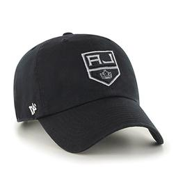 NHL Los Angeles Kings '47 Clean Up Adjustable Hat, Black, On