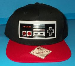 NWT MENS Nintendo GAME CONTROLLER NOVELTY BLACK BASEBALL HAT