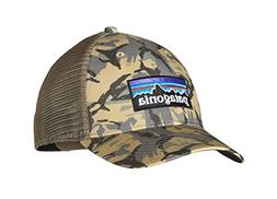NWT Patagonia Men's Trucker Hat P-6 Logo Camo Mid Crown Snap