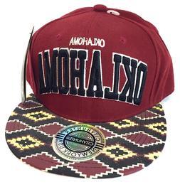 oklahoma authentic headwear flatbilled baseball cap sports