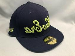 NEW ERA ORIGINALS SCRIPT NAVY & NEON 59FIFTY FITTED BASEBALL