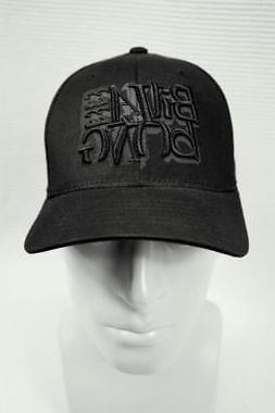 BILLABONG OsFA FLEX FIT BALL CAP HAT BLACK FLEXFIT BASEBALL