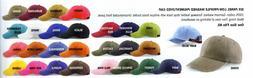 ADAMS - Low Profile BASEBALL HAT, Men's, Womens, Pigment Dye