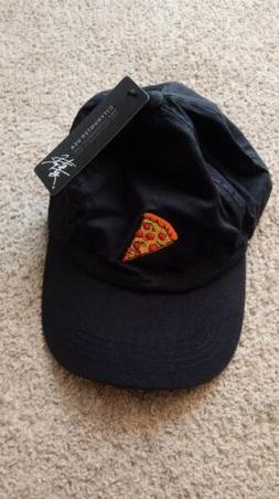 3db6e0e7cd7 Pepperoni Pizza Strapback Hat Denim Baseball Cap City Hunter