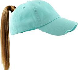 KBETHOS PONY-001 DBL Ponytail Messy High Bun Headwear Adjust
