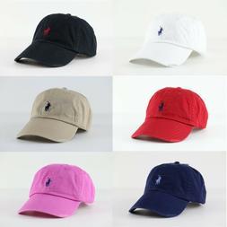 Polo Ralph Lauren Pony Logo Baseball / Golf Cap Hat One Size