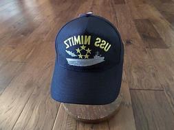 Printed USS NIMITZ U.<font><b>S</b></font>-NAVY SHIP <font><