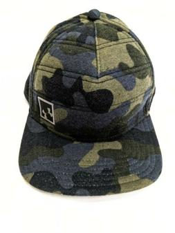 UNDER ARMOUR QUILTED SNAPBACK BASEBALL CAP HAT CAMO Blue Gre
