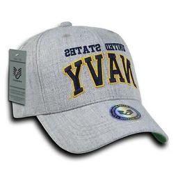 Rapid Dominance S016-NAVY Heather Grey Military Caps Navy