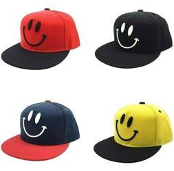 Smile Design Baby Kids Baseball Caps Cute Cotton Summer Boys