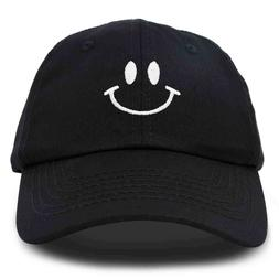 DALIX Smile Face Baseball Cap Smiling Happy Dad Hat Men Wome